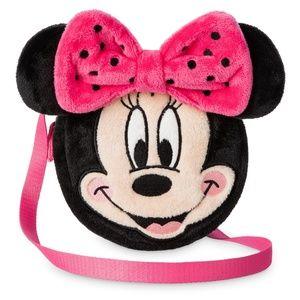 Disney Store Girls Minnie Mouse Plush Fashion Bag